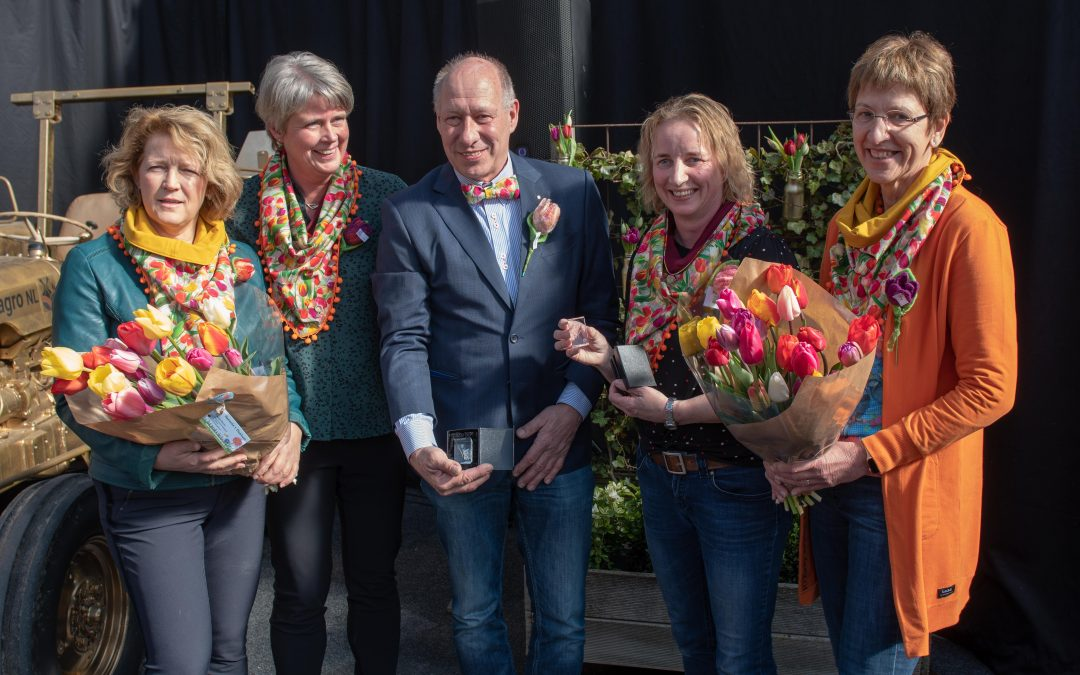 Tulpenroute Flevoland is geopend